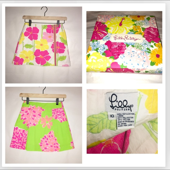 Lilly Pulitzer Other - 2 Lilly Pulitzer Skirts w/ Lilly Box